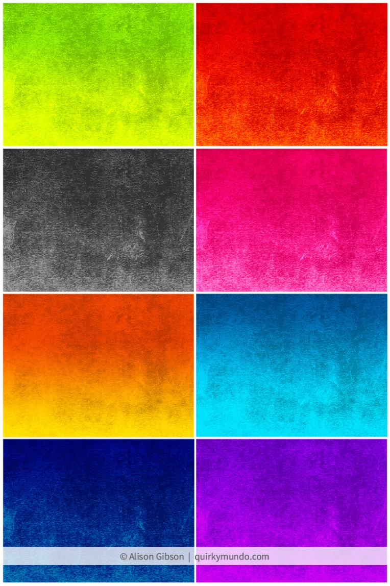 Coloured lino print background textures